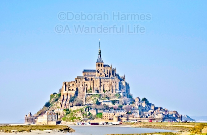 Mont St. Michel in Normandy, France
