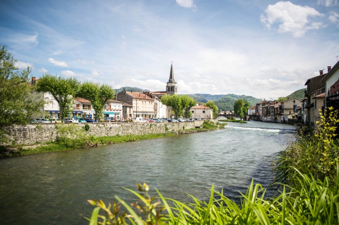 photo of the day river salat and st girons in france a wanderful life. Black Bedroom Furniture Sets. Home Design Ideas